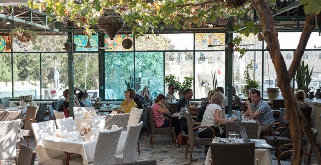 Jerusalem hotel garden